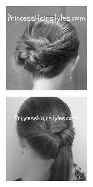 2 Quick And Easy Hairstyles Video Tutorial