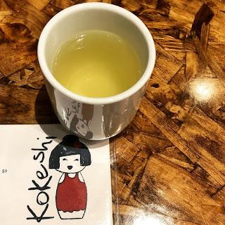 Genmaicha tea at Kokeshi