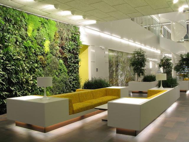 vertikal garden indoor