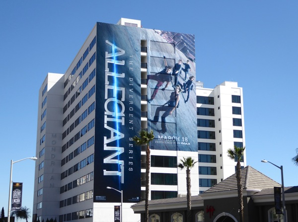 Giant Allegiant Divergent Series movie billboard