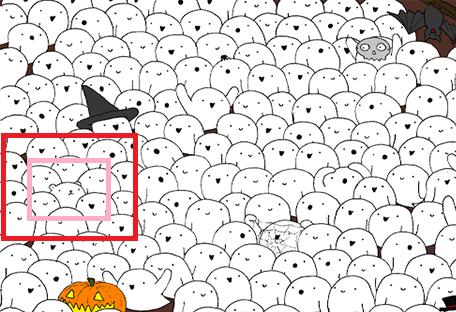 Imagen de Pocos lo logran: Descubre el oso polar entre los fantasmas. 15