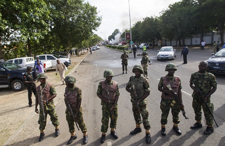 Soldiers, Police Takeover APC Secretariat