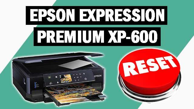 Reset impresora Epson Expression Premium XP-600