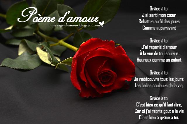 Poèmes Damour Romantique Message Damour