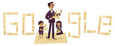 Google Doodle Rayakan Hari Ulang Tahun Daeng Soetigna