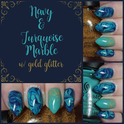 china glaze i sea the point dj blue my mind rain dance the night away first mate sephora by opi real 18k gold