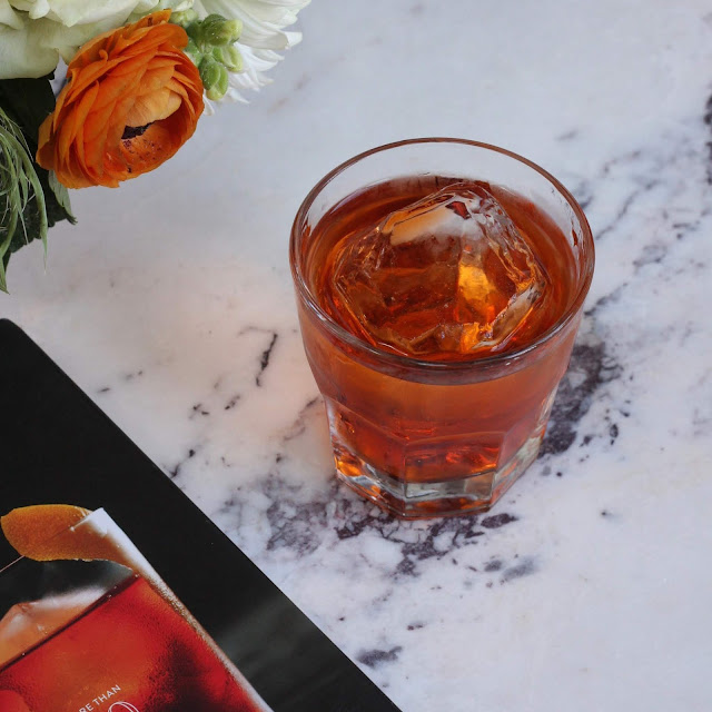 Toffee Negroni