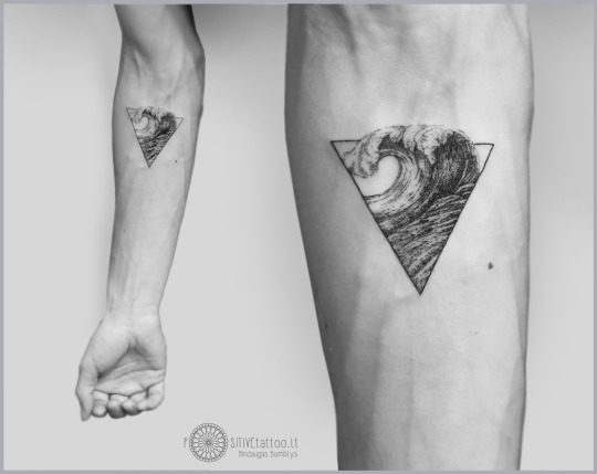 Triangle Tattoo For Men On Hand