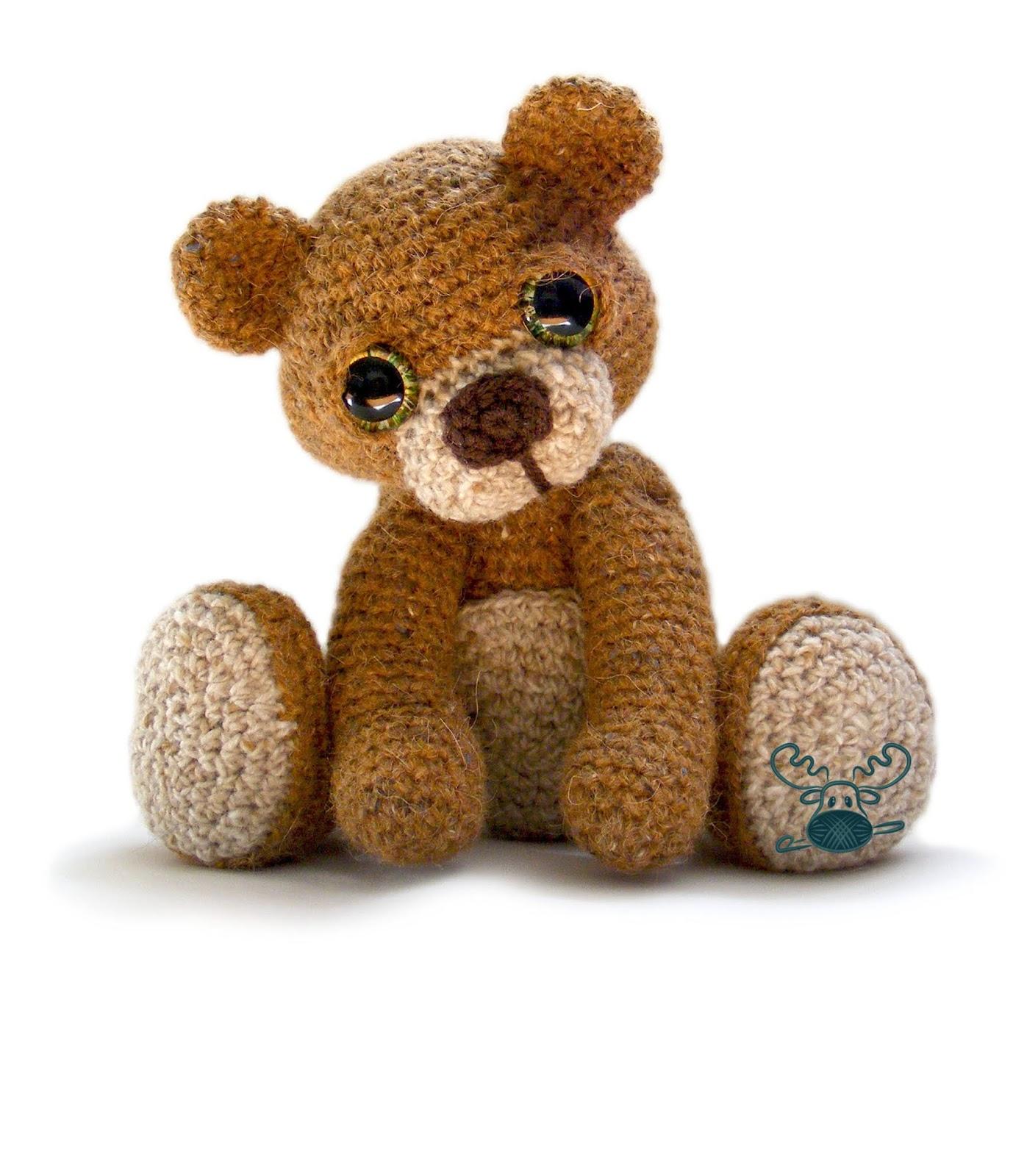 Theo the Teddy Bear Crochet Pattern PDF | Patchwork Moose