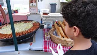 feira de rua em Amboise