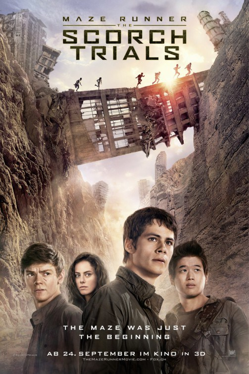 THE MAZE RUNNER 2 THE SCORCH TRIALS