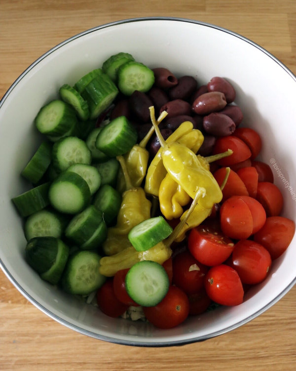 Simple Summer Salad Recipe - Tori's Pretty Things Blog