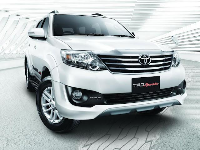 fortuner trd sportivo - So sánh Toyota Innova và Fortuner: Lựa chọn nào cho xe 7 chỗ ? - Muaxegiatot.vn