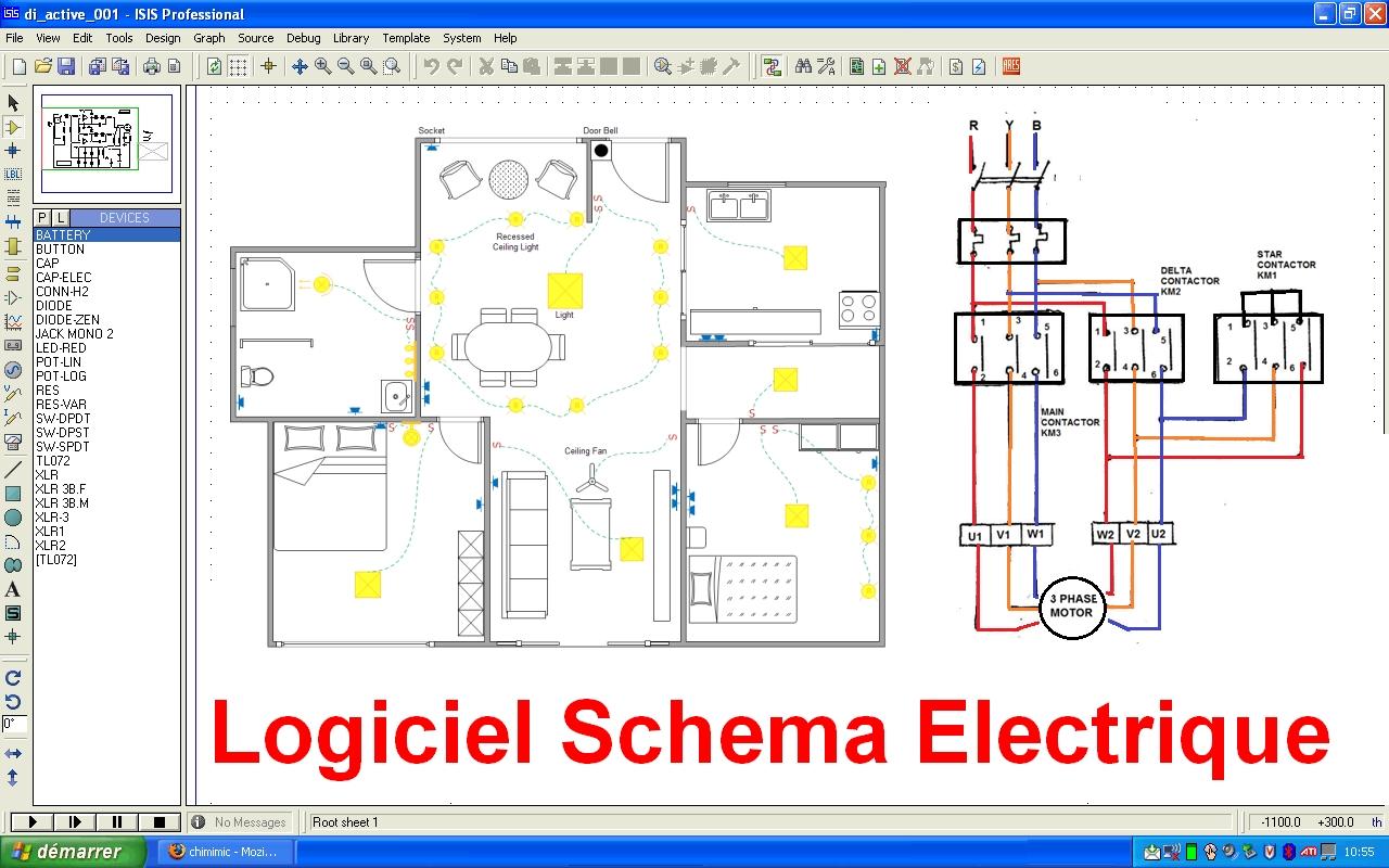 Bien connu Schema Electrique Branchement Cablage GK88