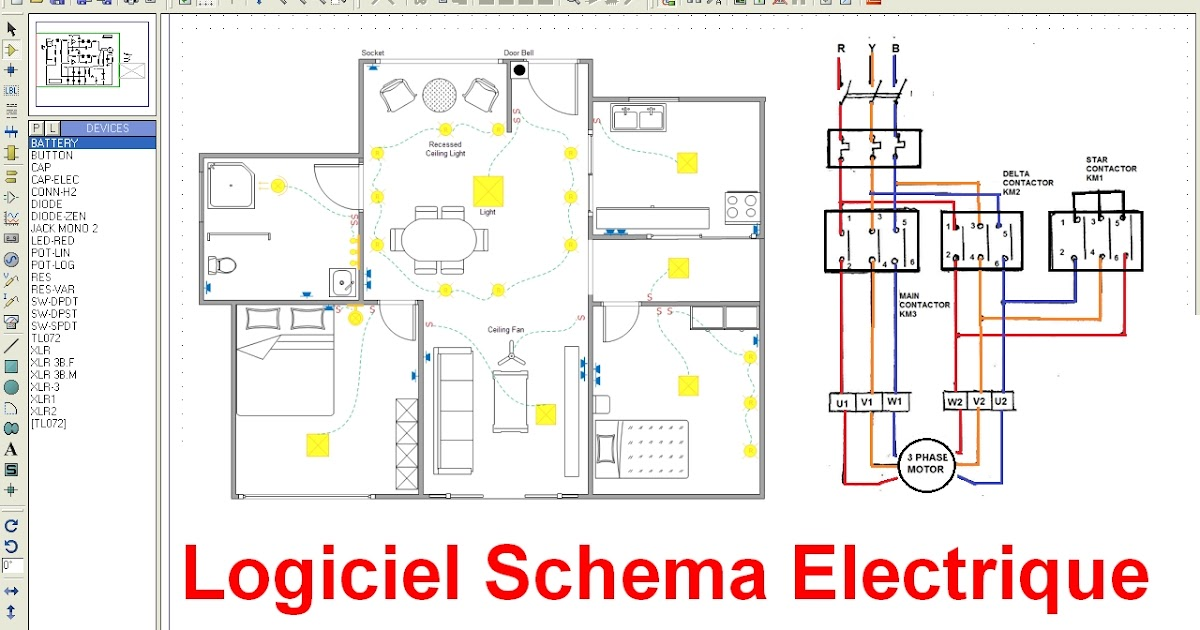 Schema electrique for Creation de maison virtuelle gratuit