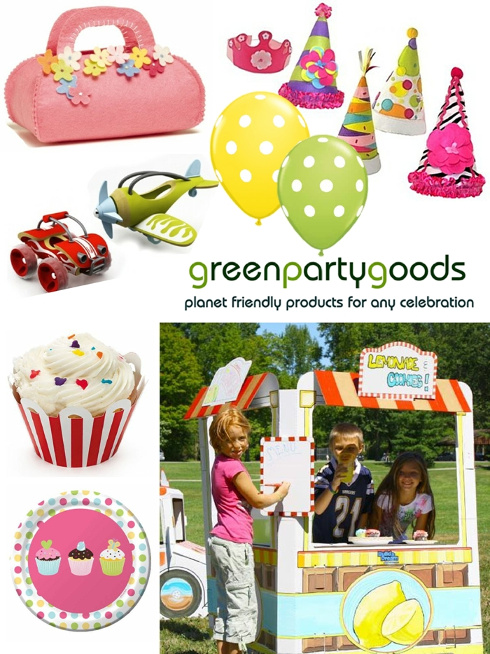 Giveaway | $70 Green Party Supplies Gift