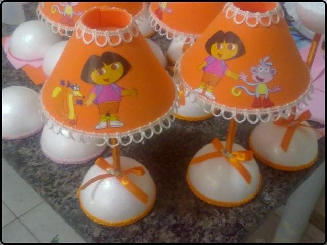 Centros de mesa Dora Aventureira