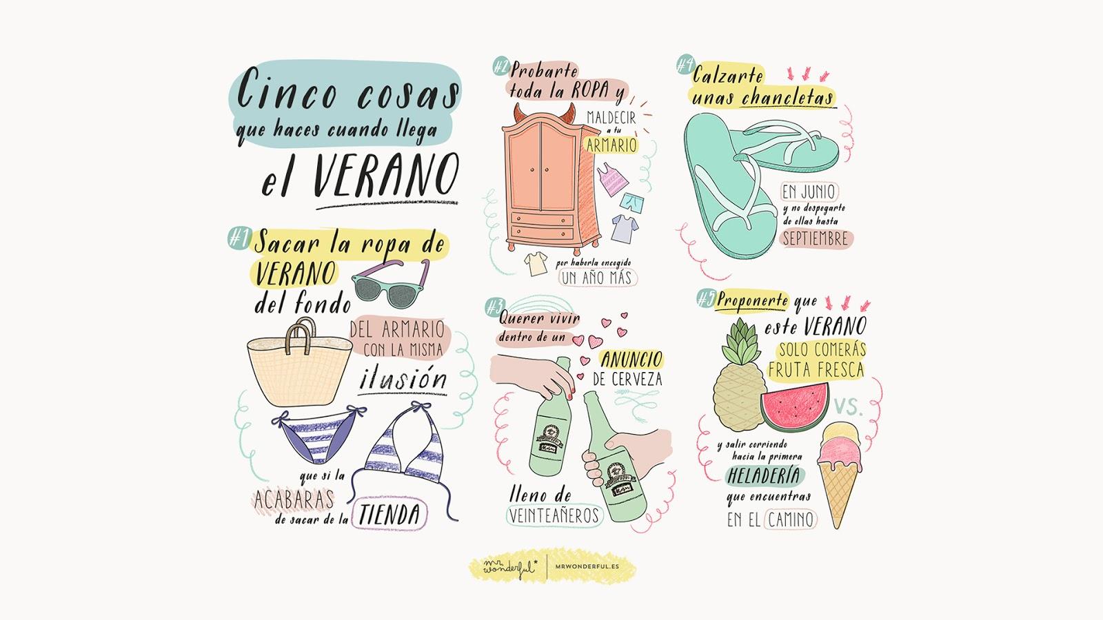Descargable Mr Wonderful Cinco cosas que hacer en verano