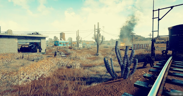 Photos Of The New Desert Map For PlayerUnknown's Battlegrounds