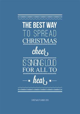 2013 Liberty Christmas Planner
