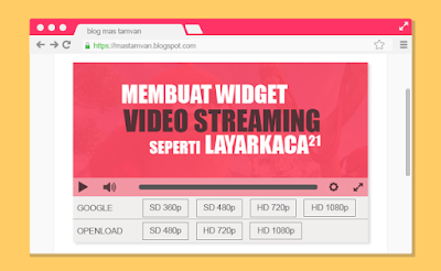 multi guia servidor video streaming widget blogger