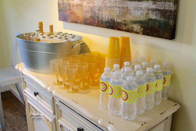 my little sunshine party drinks