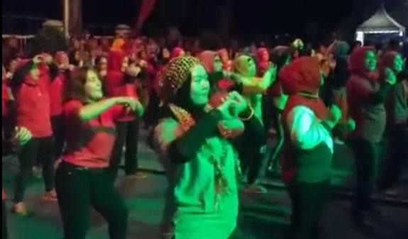 HEBOH! Malam Minggu Kota Siantar DIGOYANG ZUMBA PARTY Ramaikan HUT Kota Pematangsiantar ke 146