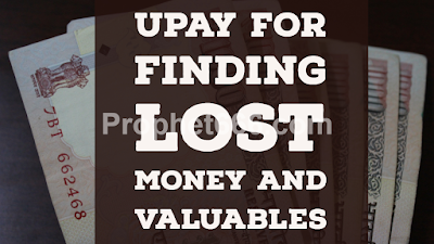 Indian Paranormal Remedy for Finding Lost Money and Valuables