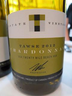 Tawse Estate Chardonnay 2012 - VQA Twenty Mile Bench, Niagara Peninsula, Ontario, Canada (91 pts)