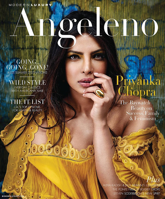 Priyanka Chopra Angeleno Magazine Photoshoot