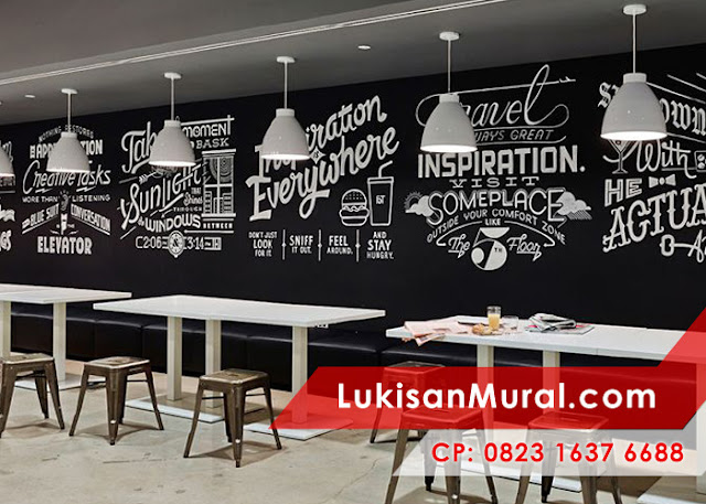 Jasa mural tembok di bandung surabaya jakarta dan jogja for Mural hitam putih