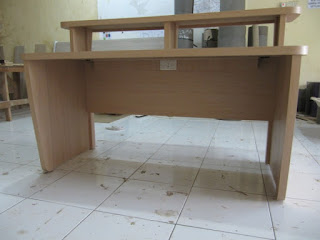 Meja Siaran Radio - Broadcast Workstation Table - Furniture Semarang
