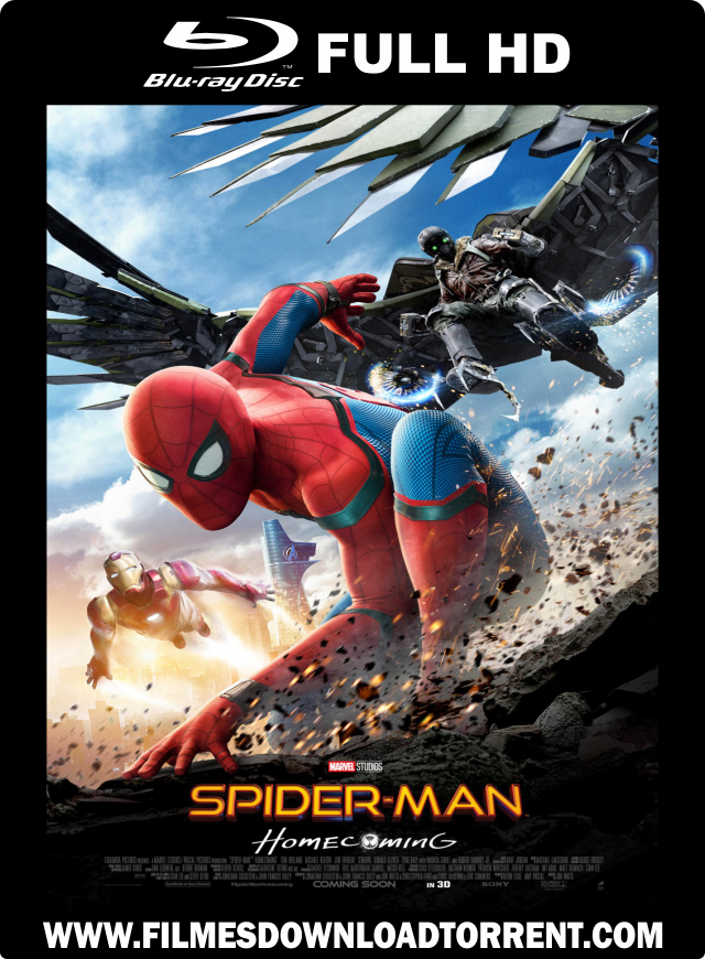 Spider Man Homecoming BRRip x264 720p Portuguese 5 1 ByPHSL555