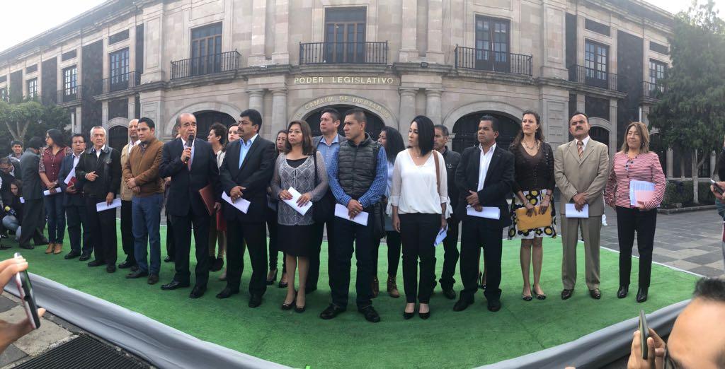 Morena rechaza iniciativa de Alfredo del Mazo de endeudar al Edomex.