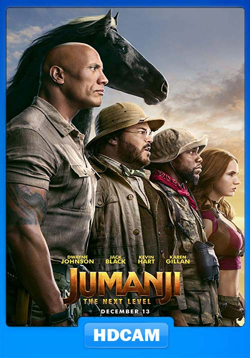 Jumanji The Next Level 2019 720p HDCAM x264 | 480p 300MB | 100MB HEVC