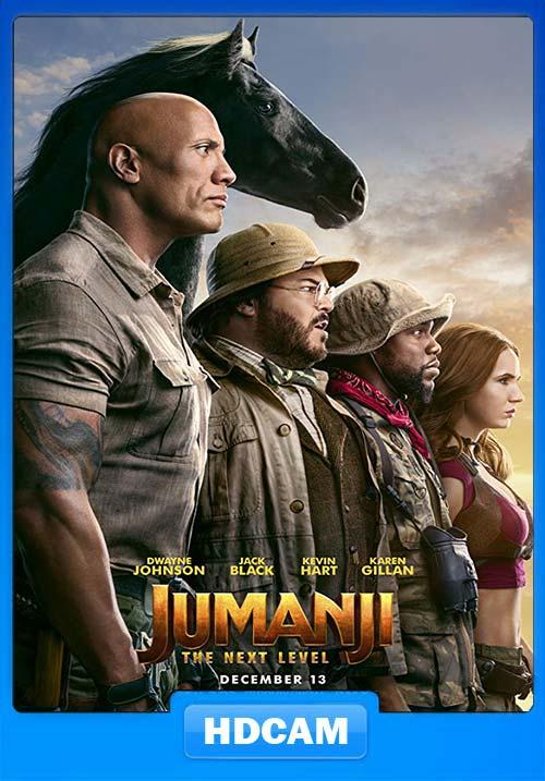 Jumanji The Next Level 2019 720p HDCAM x264 | 480p 300MB | 100MB HEVC Poster