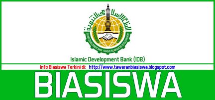 Biasiswa Merit Scholarship Programme (High-Tech) BANK PEMBANGUNAN ISLAM (IDB) 2016/17