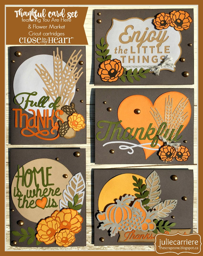 Thankful cardmaking assembly guide