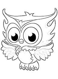 Christmas owl coloring page 9