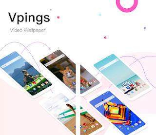 تحميل تطبيق Vpings وضع خلفيات متحركة لهواتف الاندرويد 2018