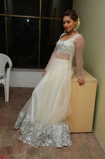 Anu Emmanuel in a Transparent White Choli Cream Ghagra Stunning Pics 011.JPG