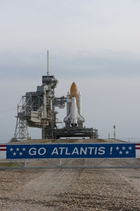 SPACE SHUTTLE 'ATLANTIS' STS-135
