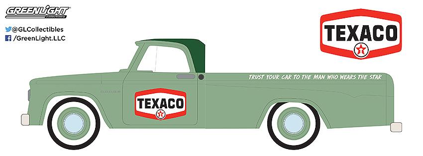 1967 Dodge D-100 Sweptside Texaco runnin on empty series greenlight