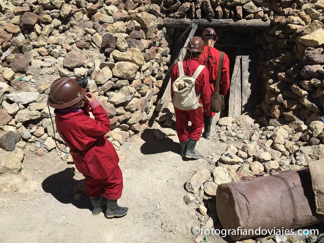 mina cerro rico en Villa Imperial de Potosi Bolivia