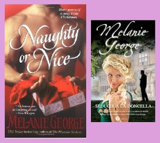 portadas de la novela romántica histórica Seducir a la doncella de Melanie George