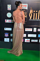 Lerisa Bonisa in a Sleeveless Deep neck Golden Gown ~  Exclusive 016.JPG