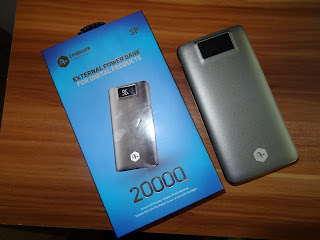 A+ 20000 mAh power bank review