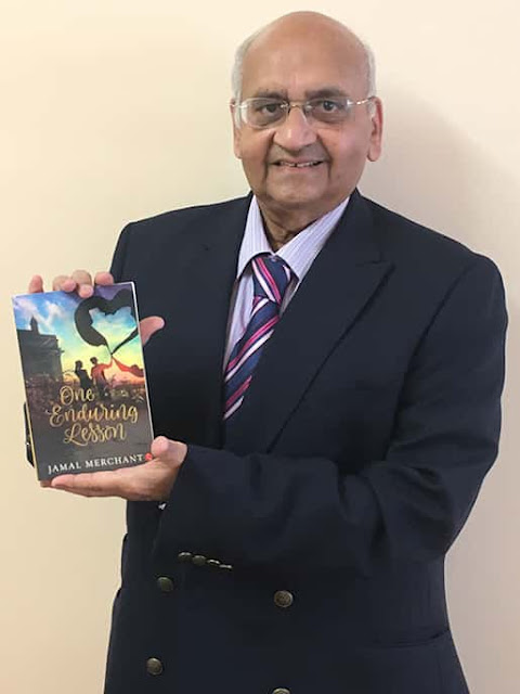 News : Jamal Merchant launches his debut novel 'One Enduring Lesson'