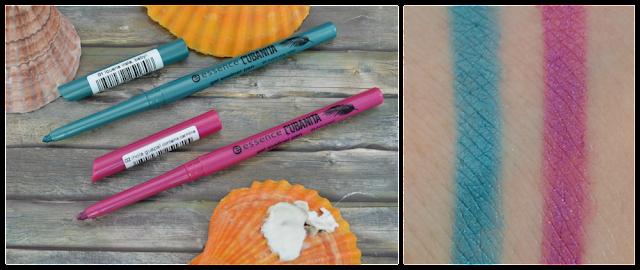 Essence Cubanita TE gel eyeliner pens 01 Ibuena vista, baby! und 02 ihola guapa! Swatches
