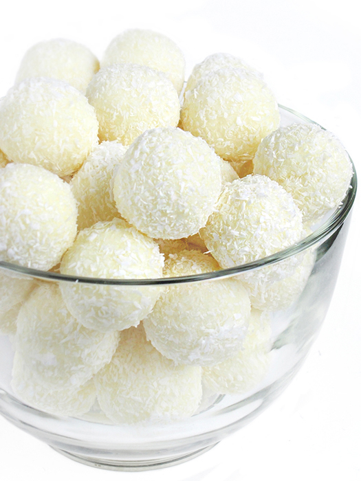 Homemade coconut bonbons recipe tinascookings.blogspot.com